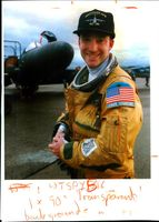 Aircraft crash:u.s airforce capt. david hawkins.