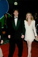 Scriptwriter David E. Kelley along with his wife Michelle Pfeiffer at the Screen Actors Guild Awards in Hollywood