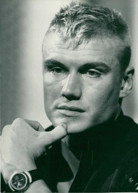 Dolph Lundgren Swedish actor.