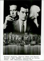 Daryl Hannah, Michael Douglas and Charlie Sheen in Wall Street