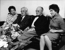 Henry Alfred Kissinger`s parents, during an interview.
