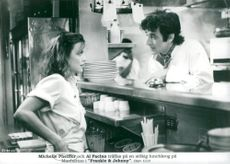 """Michelle Pfeiffer and Al Pacino in """"Frankie & Johnny"""""""