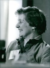 Shirley Williams smiling. 1980.