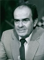 Portrait of Georges Marchais, 1984.