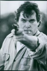"Ray Liotta as Officer Gary ""Figgsy"" Figgis in a scene from the film Cop Land, 1997."