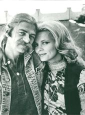 Actress Gena Rowlands with Seymour Cassel