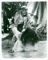 Richard Harris in the role of Aksenti Ivanovitch at the Royal Court Center