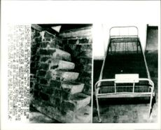 Stairs and bed where Oberdan Sallustro's fingerprints have been found