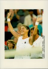 Monica Seles in the Canadian Open