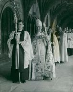Geoffrey Fisher with Eight Priests.