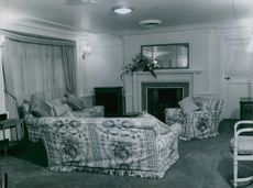 The Queen's room aboard the Royal Liner Gothic.