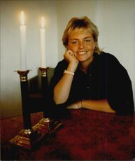 Portrait image of golf player Lotta Neuman taken in an unknown context.
