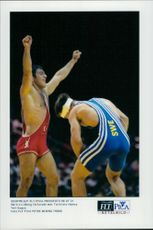 Wrecker Martin Lidberg lost to Turkey's Hamza Yerlikqaya in the 1996 Olympic Games