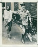 Zimbabwe Salinbury: An African being led away