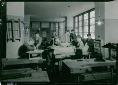 Sigtunastiftelsen's internal work - craft hall