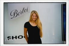 Tennis player Anna Kournikova - the new face of Berlei Shock Absorber sports bra