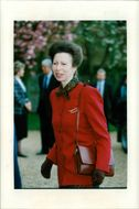Britain's Princess Anne at Marwell Zoo