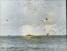 U.S. PACIFIC FLEET TAKES ANOTHER SUCCESSFUL ATTACK ON THE ENEMY.
