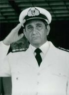 Portrait of Admiral Ruben Franco.