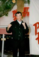 Sylvester Stallone at the new Planet Hollywood restaurant in Cannes