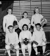 Bromma's first team in fencing.