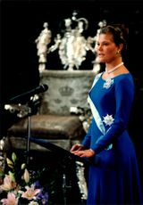 Crown Princess Victoria is speaking on her 18th birthday