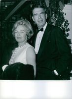 Fred MacMurray and is wife. 1970.