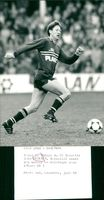 John Eriksen in action in Euro 88