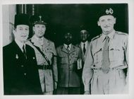 Viscount Montgomery during his state visit in Egypt