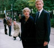 Carl and Mia Bildt at the opening of the Riksdag