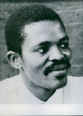 South African Personalities  Portrait of a leading member of the African National Congress in the Eastern cape F. Ntsangani. 1960