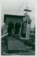 The cable car at Sälenstugan in 1946.
