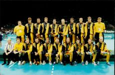 OS Handball Finals Between Sweden and Croatia 26 - 27: Deppade Silver Medalists