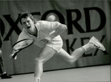 Tennis player Veli Paloheimo (Finland)