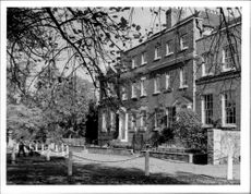 A 17th century house in Dulwich, a suburb of London.