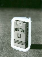 Boston in 10 packages. of cigarettes