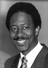 Portrait of Clarke Peters.