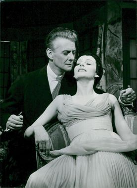 "Frank Sundström and Marianne Aminoff in ""My wife goes again"""