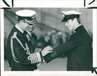 Prince Andrew, Duke of York with Prince Philip