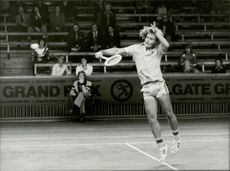 Action image of Hans Simonsson in an unknown competition context.