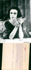 Exhibition is organized about Asta Nielsen, a silent film star from Denmark and active in Germany in the 1920s
