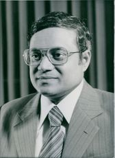 His Excellency President Maumoon Abdul Gayoom, President of the Republic of the Maldives since 1978. 1983.