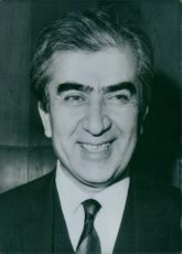 Portrait of Ihsan Topaloglu. Turkish Politician.