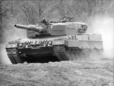"""""""Leopard 2"""" armored carriage"""