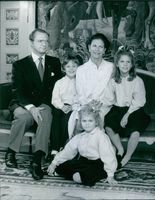 The royal couple family picture
