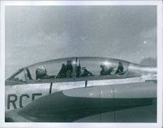 US used the RC5 fighter plane; with two air pilots inside during war in USA between against Vietnam.