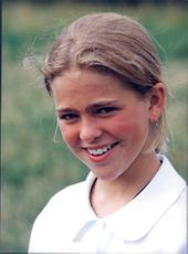 Portrait of Princess Madeleine at Solliden