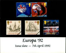 The Europa Stamps.