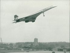 Aircraft Concorde at Mildenhall