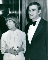 Sir William Stanley Baker with his wife Anna.